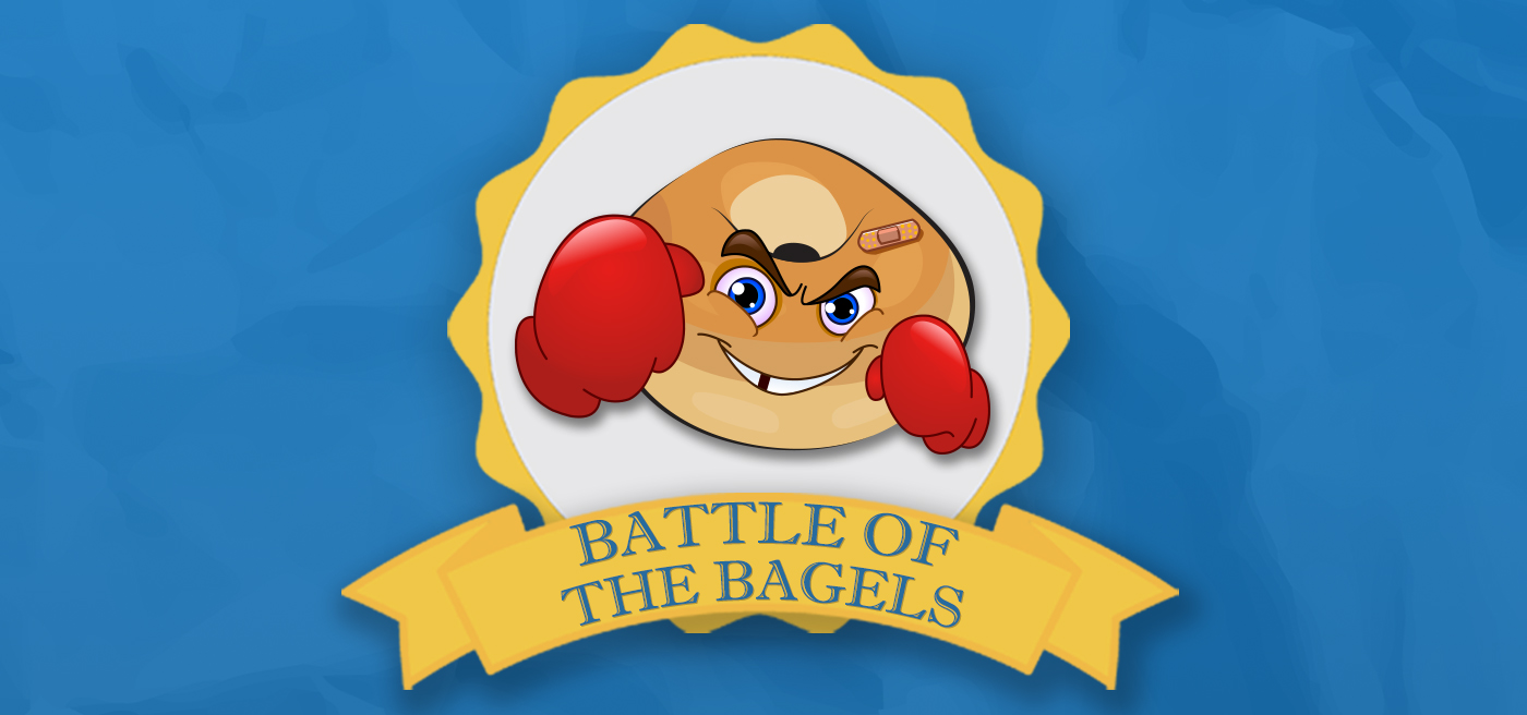 Battle of the Bagels Banner blog
