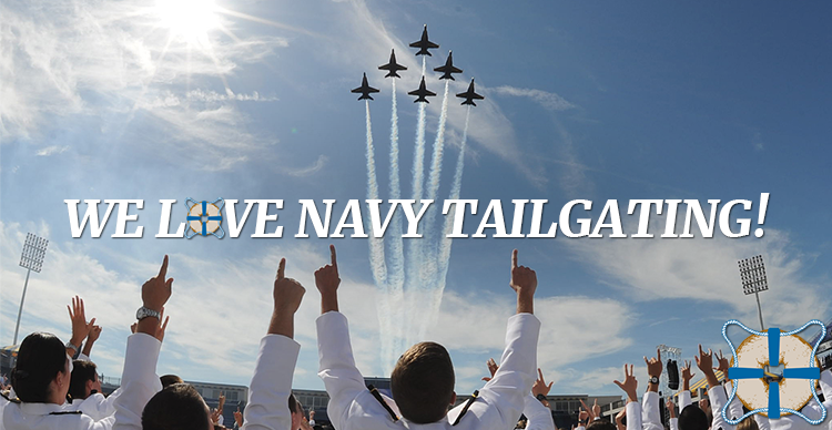 We Love Navy Tailgating Featured Image